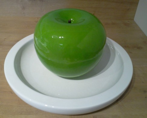 grüner Riesenapfel