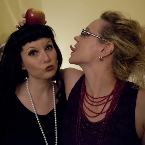 Mädelsabend mit Apfel