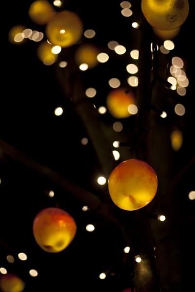 Weihnachtsmarktäpfel