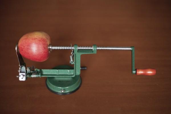 Apfelschäler, Apfelschneider