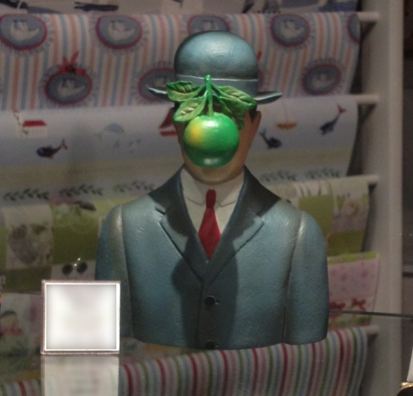 René Magritte Le fils de l'homme