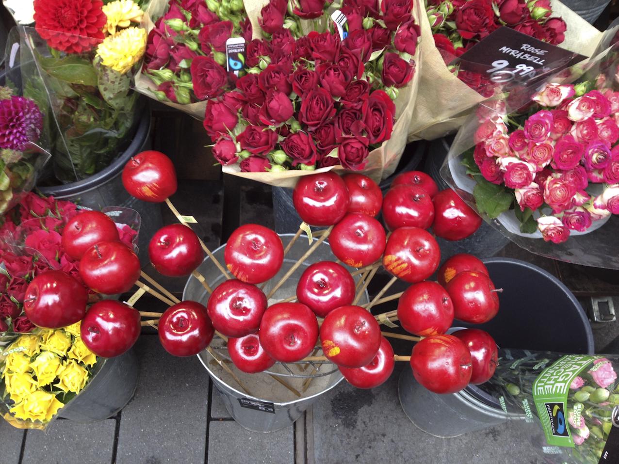 #anappleaday – 13.04.2015 – Äpfel im Blumenladen