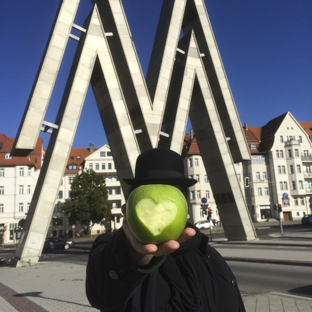#anappleaday – 15.10.2015 – I love Leipzig